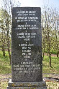 Kalaznói Emlékoszlop