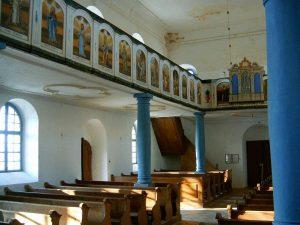 Kalaznói Evangélikus Templom belső